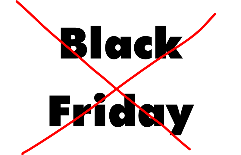 Black (Charity) Friday 2019