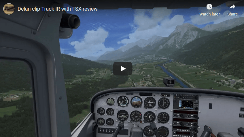 Yet another great video review of DELANCLiP with Microsoft Flight Simulator