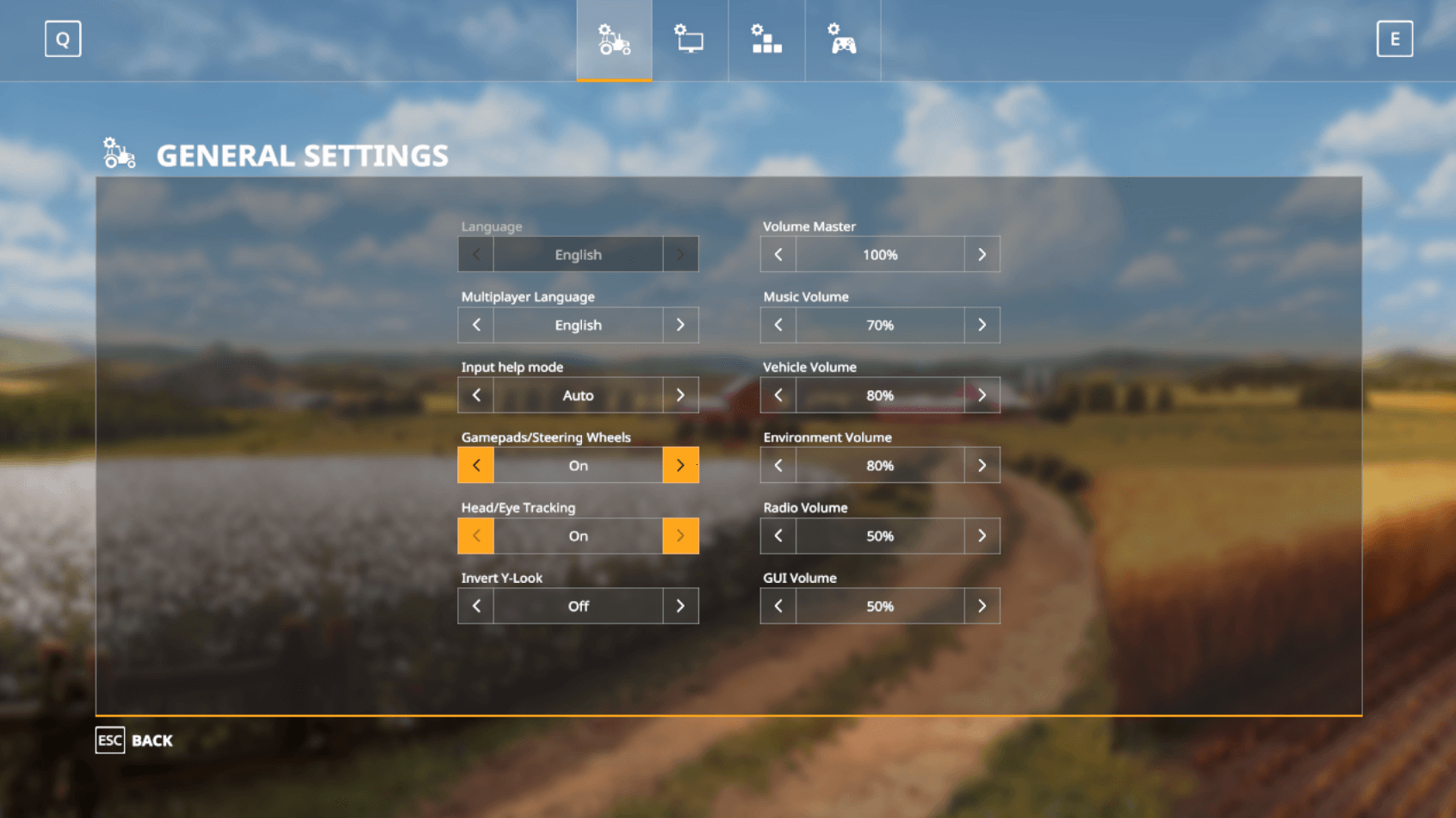 Head Tracking games troubleshooting and setting with