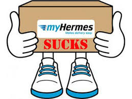 Delivery Services Update – HERMES SUCKS !!